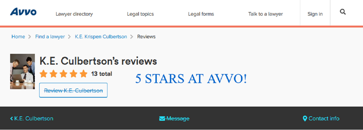 5-stars-avvo-reviews